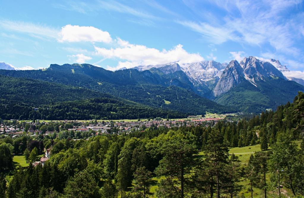 Spazieren in Garmisch