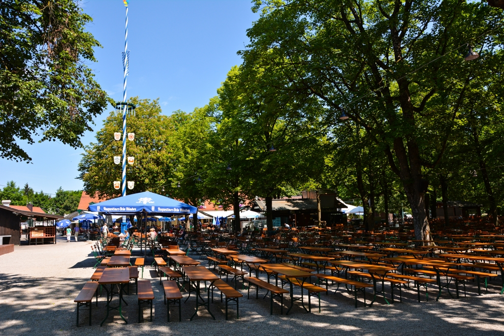 Biergarten Hirschgarten