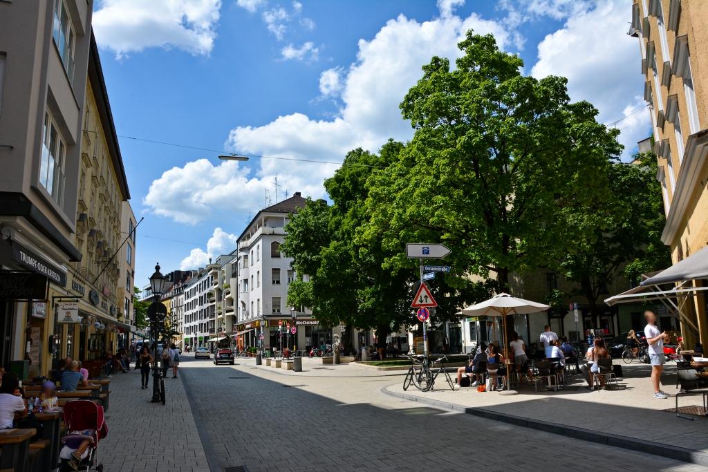 Schwabing Marktplatz