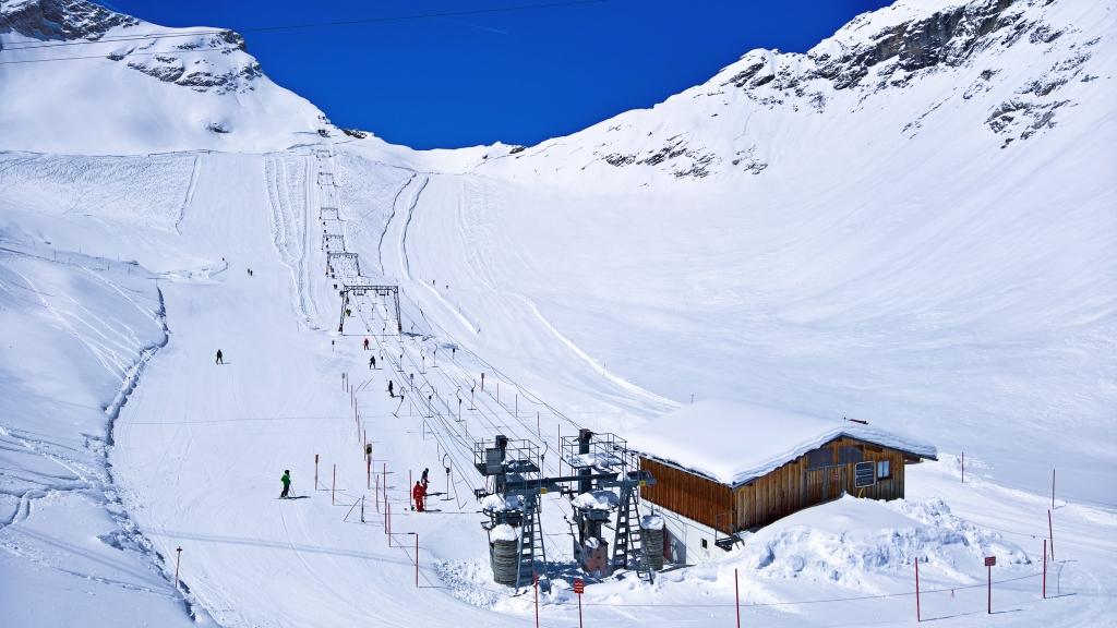 Zugspitzplatt - Gletscherlifte