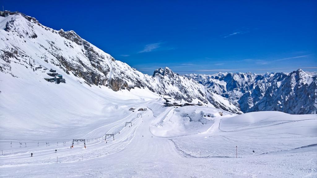Zugspitzplatt - Gletscherabfahrten